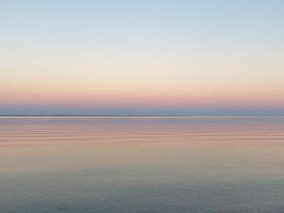 Winterstimmung am Strand von Habernis